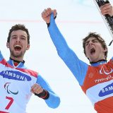 """Paralimpiadi, per Bertagnolli-Casal è oro nello slalom gigante """"Un esempio dell'Italia che vince"""""""