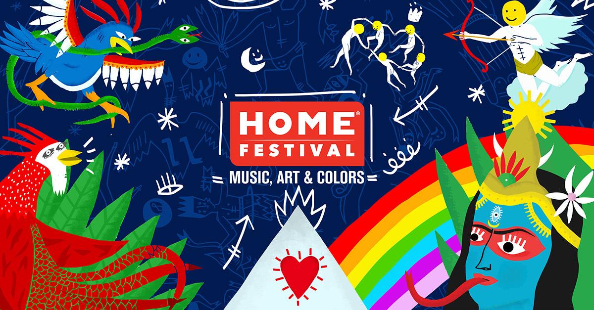 Vieni all'Home Festival 2018 dal 29 agosto al 2 settembre: ti aspettiamo a Treviso!