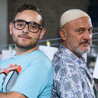 """""""Arrivano i Prof"""": al liceo con Claudio Bisio e Rocco Hunt"""