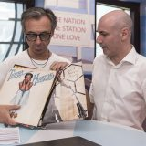 Albertino mette in diretta quattro vinili disco sound per il Record Store Day