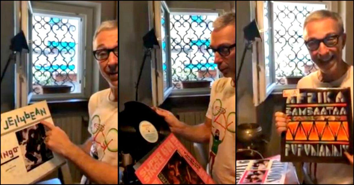 I vinili di Linus: la collezione di casa Linetti in diretta con Filippo e Carlotta