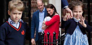 Royal Baby: l'abito tributo a Lady D, il broncio di George e la dolcezza di Charlotte