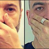Coprirsi la bocca e il naso contro l'uso dei gas in Siria: l'appello di Roberto Saviano al volo del mattino