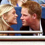 La faccia dell'ex di Harry è quella che avrebbe ogni donna alle nozze del suo ex