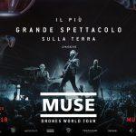 """Muse, il Drones World Tour arriva al cinema solo per due giorni, il 12 e il 13 Luglio 2018. Guarda la clip di """"Psyco"""""""