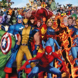 Il mondo dei supereroi secondo Giorgio Prezioso