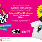 Arriva a Milano CN Pop Up Town: il primo temporary shop d'Europa targato Cartoon Network