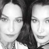 Bella Hadid è la figlia segreta di Carla Bruni? La foto su instagram