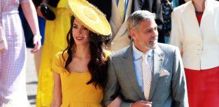 Royal Wedding: l'arrivo in chiesa degli invitati vip, dai Clooney ai Beckham