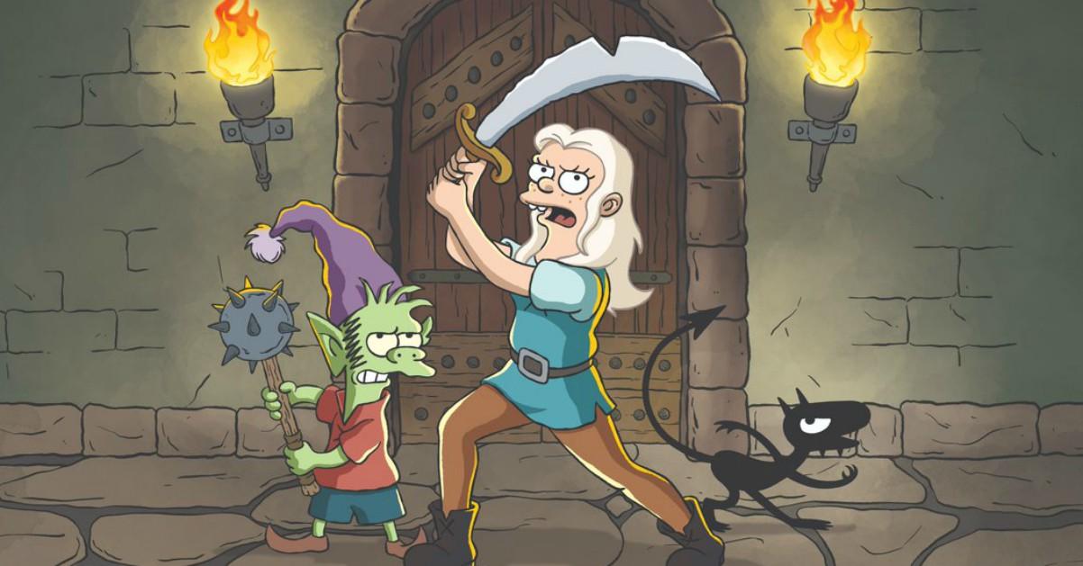 Disincanto, la nuova serie fantasy creata dal papà dei Simpson Matt Groening