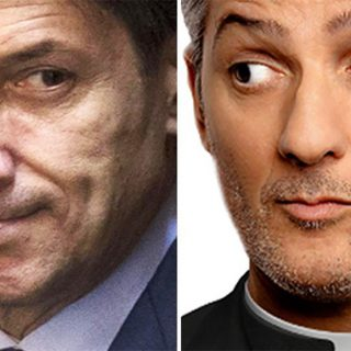 Fiorello imita Giuseppe Conte