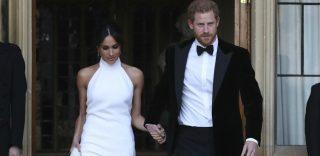 Royal party: il cambio d'abito di Meghan Markle per il ricevimento di nozze