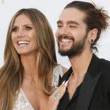 Heidi Klum e Tom Kaulitz dei Tokio Hotel, primo red carpet a Cannes