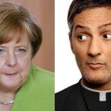 Da Fiorello le allusioni hot di Angela Merkel sul premier Giuseppe Conte