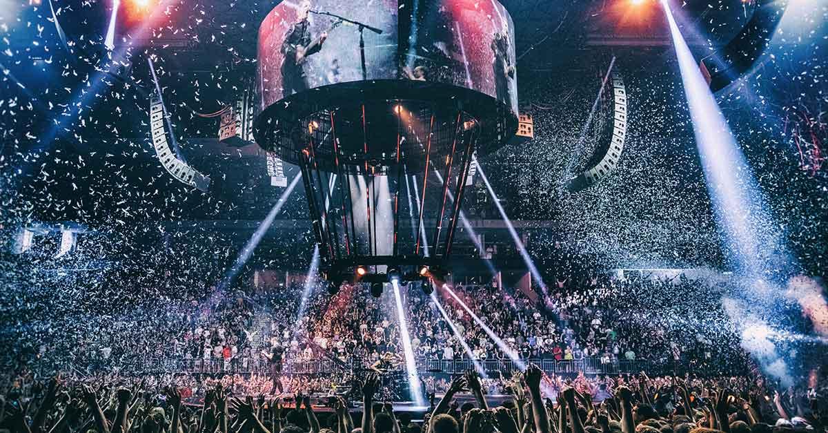 Muse, il Drones World Tour arriva al cinema solo per due giorni, il 12 e il 13 Luglio 2018