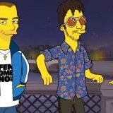 """Carl Brave, Fabri Fibra e Francesca Michielin diventano Simpson per il video """"Fotografia"""""""