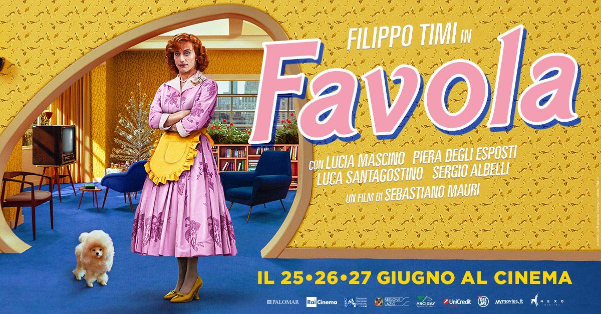 """La versione cinematografica dello spettacolo """"Favola"""" di Filippo Timi è nei cinema solo il  25, 26 e 27 giugno. Guarda la clip in esclusiva!"""