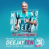 Deejay Ten Milano, 14 ottobre 2018:  info e iscrizioni