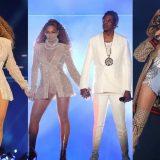 La prima tappa del concerto di Jay-Z e Beyoncè a Cardiff: l'amore è sul palco