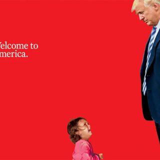 La copertina di Time con la bimba in lacrime e Trump