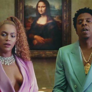 Il video di Beyoncé e Jay-Z girato al Louvre (con polemica)