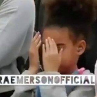 L'imbarazzo di Blue Ivy durante il concerto di Beyoncé e Jay-Z