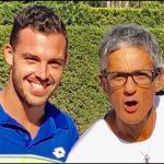"""Roland Garros. Marco Cecchinato batte Djokovic, Fiorello: """"L'ho allenato proprio bene"""""""
