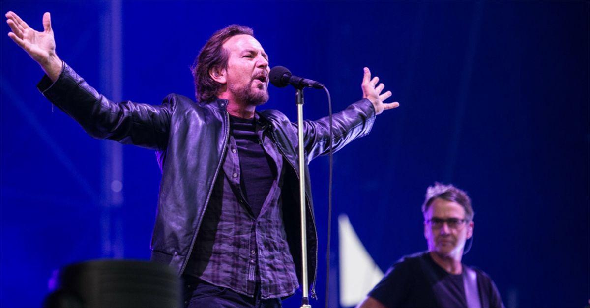 Pearl Jam, trionfo a Milano