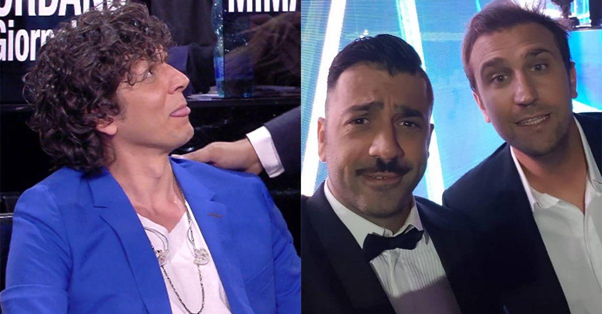 """Pio e Amedeo a Ermal Meta """"Sei arrivato dall'Albania col gommone"""". La risposta del cantante"""