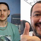 """Gemitaiz a Salvini """"Se muori facciamo una festa"""" e lui risponde: lo scontro social"""