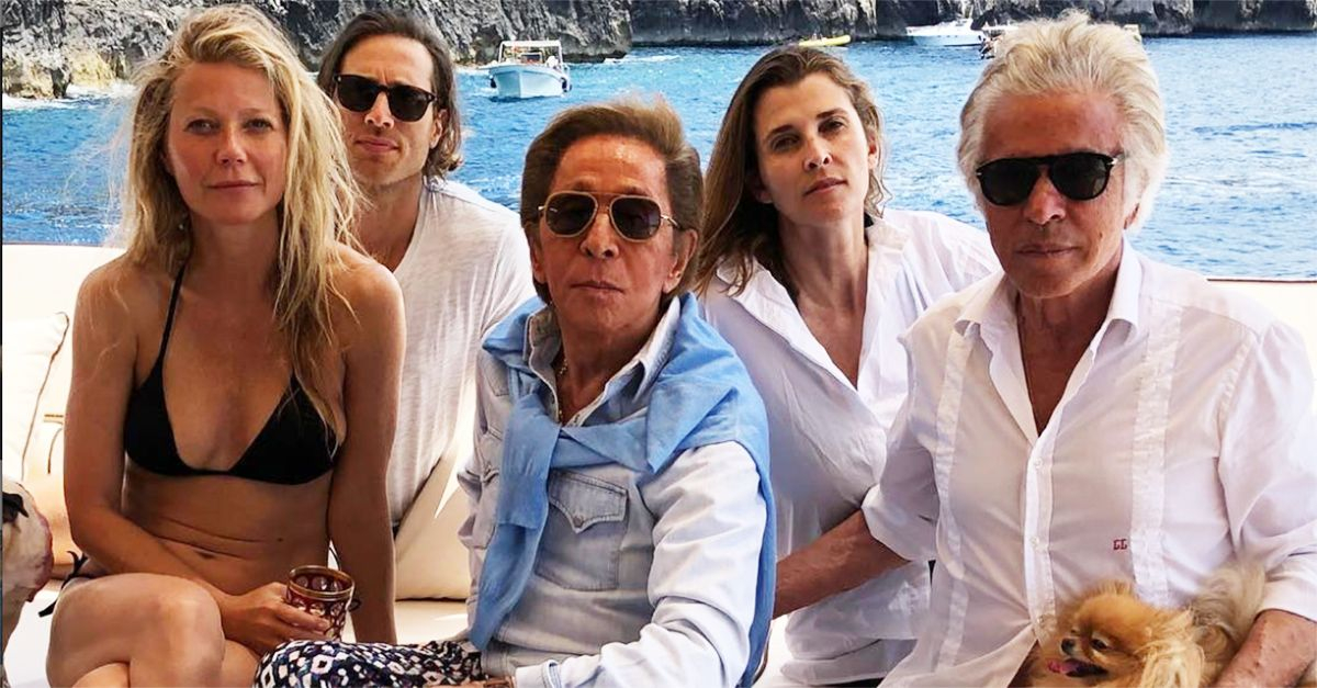 Capri. La dolce vita di Gwyneth Paltrow