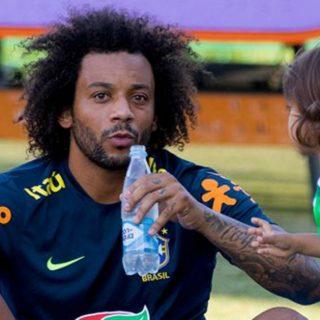 Sorpresa per il Brasile, in campo i figli dei calciatori