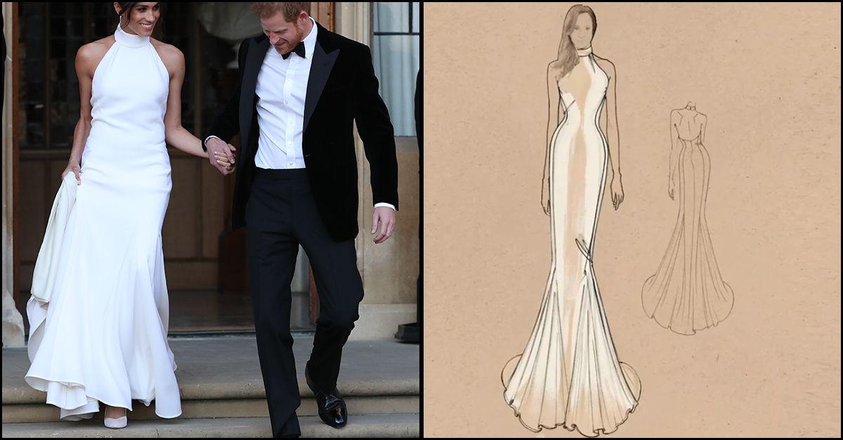 7a7d20ecee58 Meghan Markle  l abito da sposa di Stella McCartney è in vendita ...