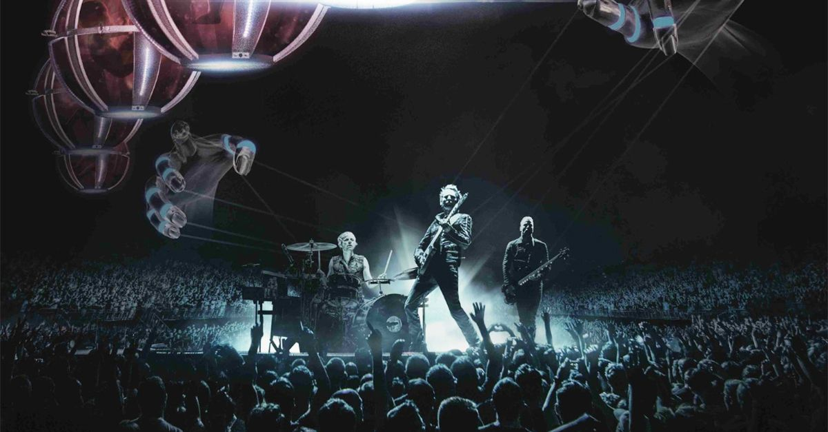 Muse Drones World Tour, la clip in anteprima mondiale