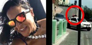 Grande Fratello, Aida Nizar si schianta con il motorino mentre gira un video