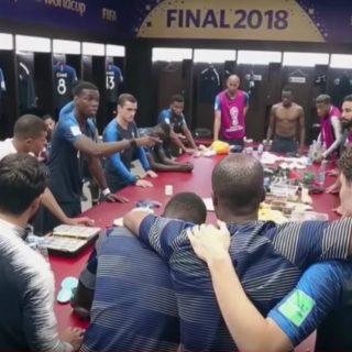 L'emozionante discorso di Pogba prima della finale