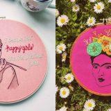 Su Instagram torna l'arte del ricamo: ago e fili colorati gli strumenti delle nuove influencer