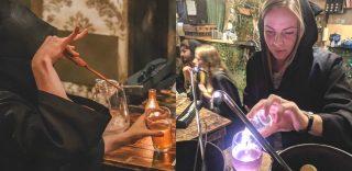 Ecco il pub dove puoi creare cocktail magici con la bacchetta di Harry Potter