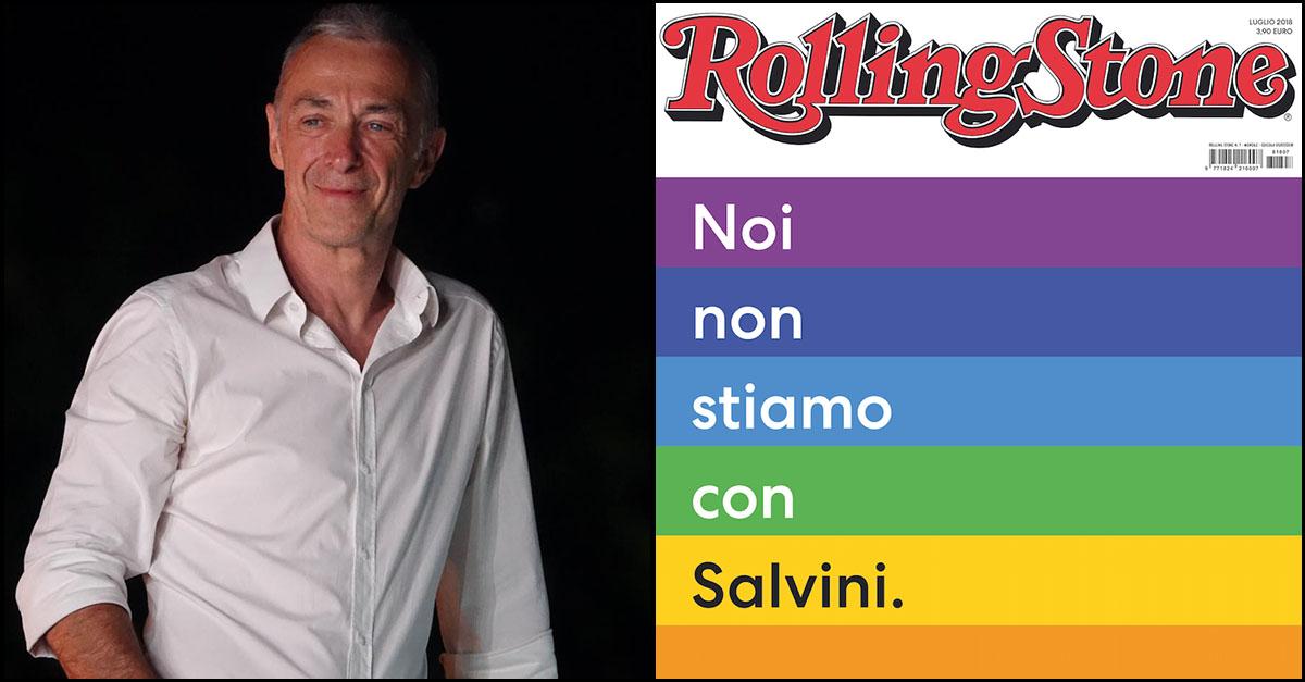 """Rolling Stone, Linus: """"Vi racconto come stanno le cose"""""""