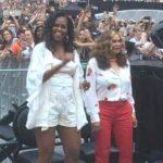 Michelle Obama balla scatenata al concerto di Beyoncé e Jay-z
