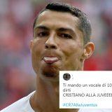 Ronaldo alla Juventus, la reazione social tra gioia e sfottò