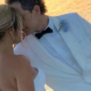 Francesca Barra e Claudio Santamaria sposi, la serenata