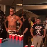 La Dark Polo Gang sfida Post Malone a Beer Pong: la gara british