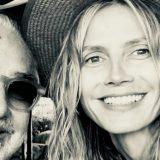 Foto di famiglia: Flavio Briatore con Heidi Klum e la figlia Leni