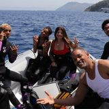 Will Smith in Italia: i video delle immersioni con tutta la famiglia