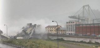 Genova: crolla il ponte Morandi sulla A10, persone sotto le macerie