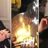 Elton John padrino del figlio dei Beckham: torta di compleanno a sorpesa