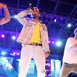 Riccione, la Dark Polo Gang sul palco di Deejay On Stage