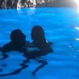 Heidi Klum, bagno romantico nella Grotta Azzurra con Tom dei Tokio Hotel