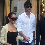 Ronaldo e Georgina, shopping in via Montenapoleone a Milano